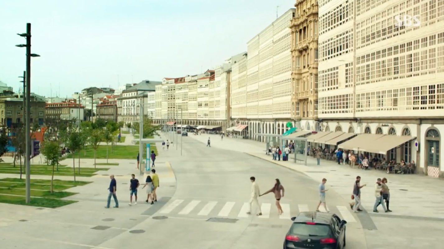 Crosswalk Galerías De La Coruña Korean Dramaland