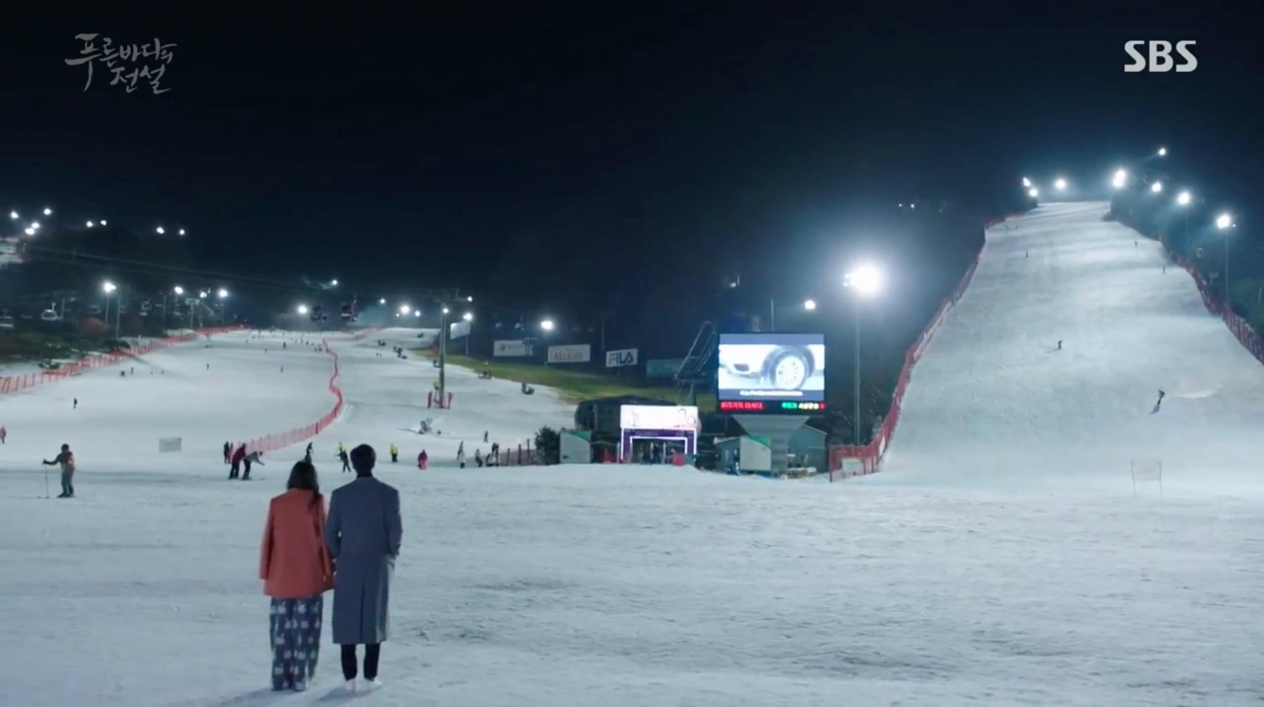 洪川大明維瓦爾第滑雪場-藍色大海的傳說