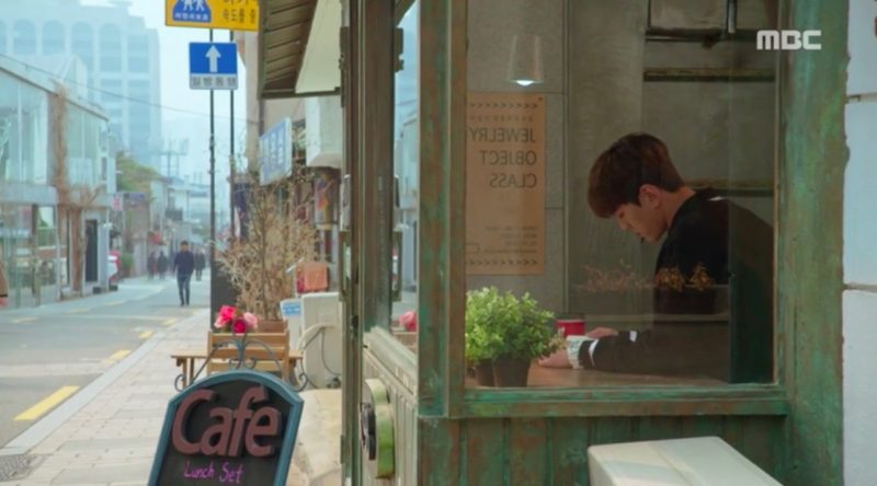 rich family's son filming location bukchon hanok village Kim Min-gue Elkie CLC cafe