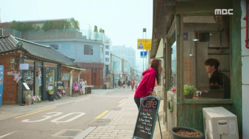 rich family's son filming location bukchon hanok village Kim Min-gue Elkie CLC cafe