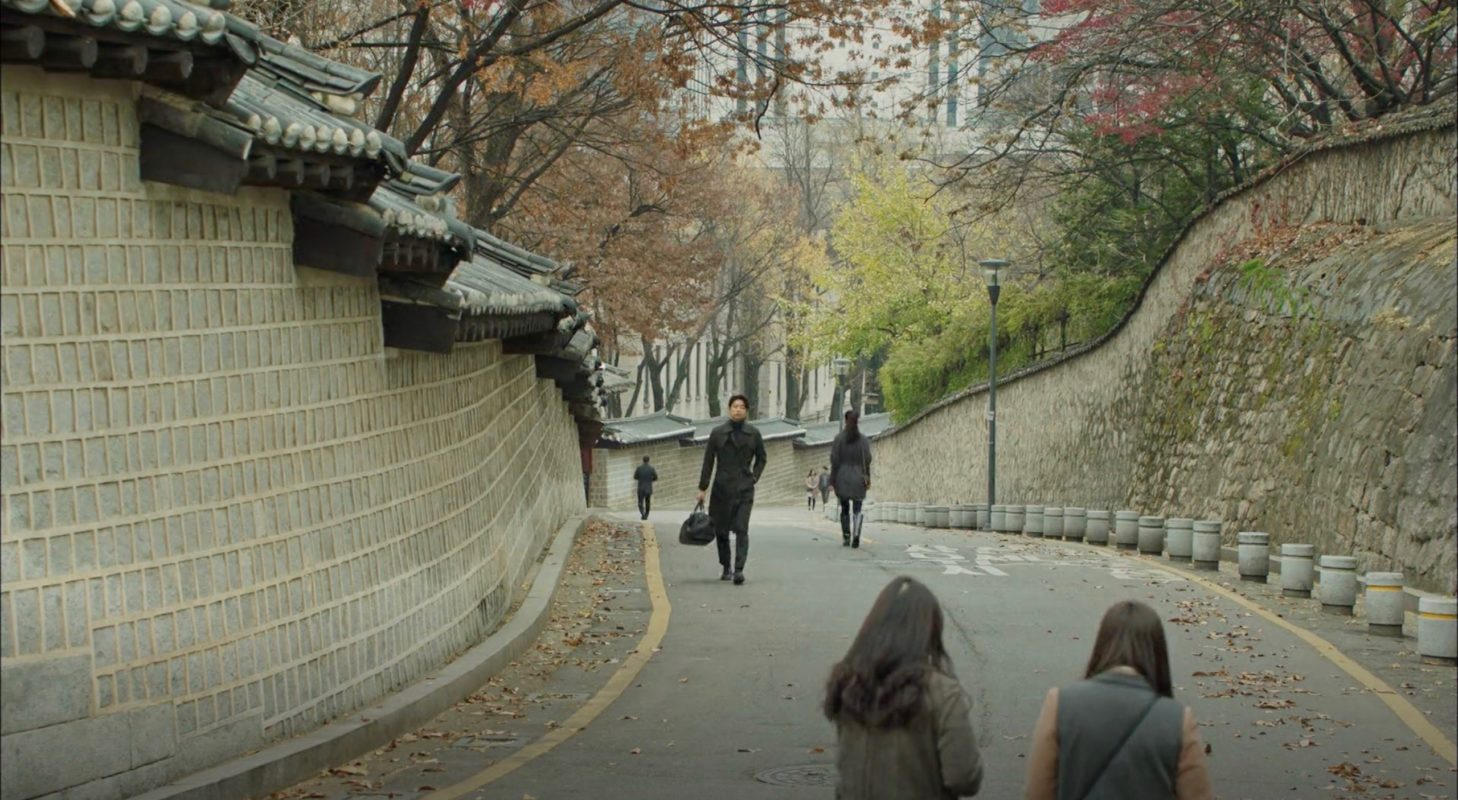 Deoksugung Palace Stonewall Walkway [덕수궁 돌담길] – Korean