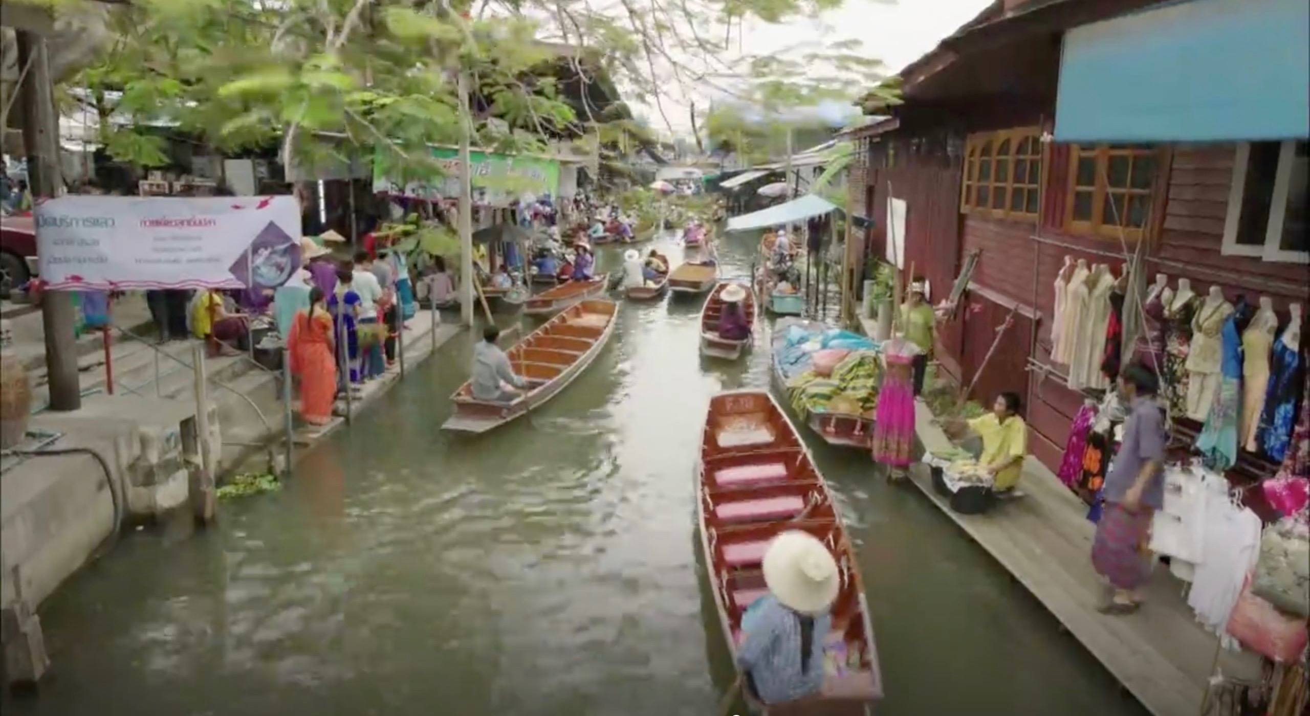 Damoen Saduak Floating Market [ตลาดน้ำดำเนินสะดวก] – Korean Dramaland